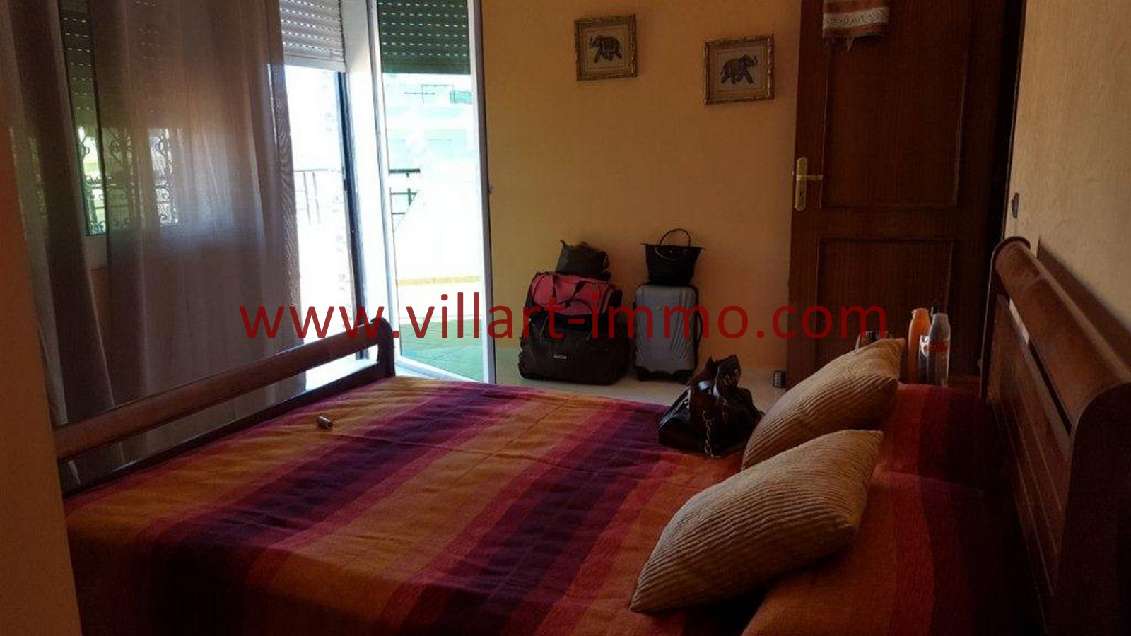 3-Vente-Appartement-Tanger-Chambre à Coucher 1-VA509-Villart Immo