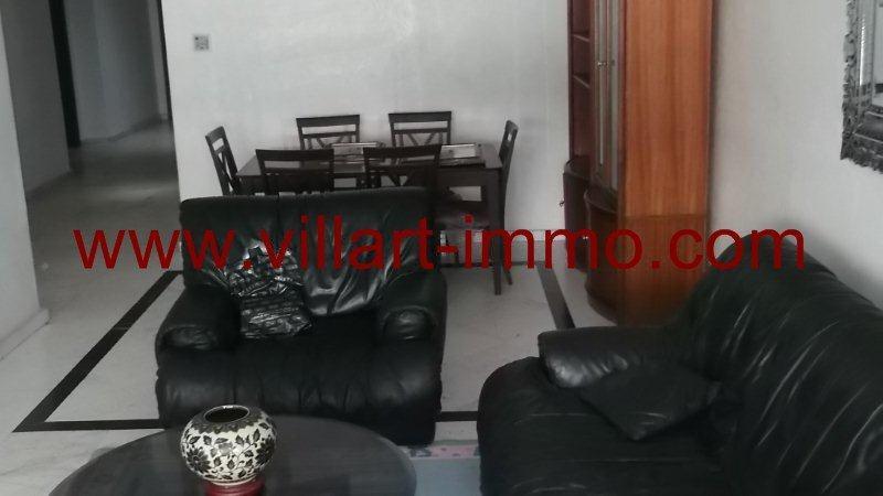 4-Location-Appartement-Meublé-Centre ville-Tanger-Salon'-L951-Villart immo
