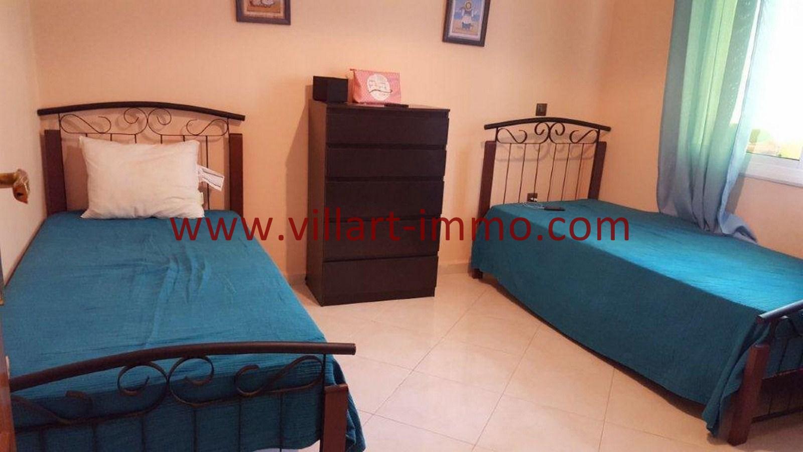 4-Vente-Appartement-Tanger-Chambre à Coucher 2-VA509-Villart Immo