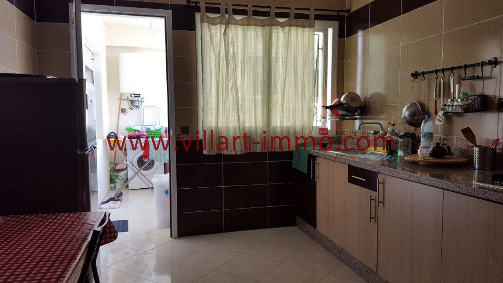 5-Vente-Appartement-Tanger-Cuisine -VA509-Villart Immo