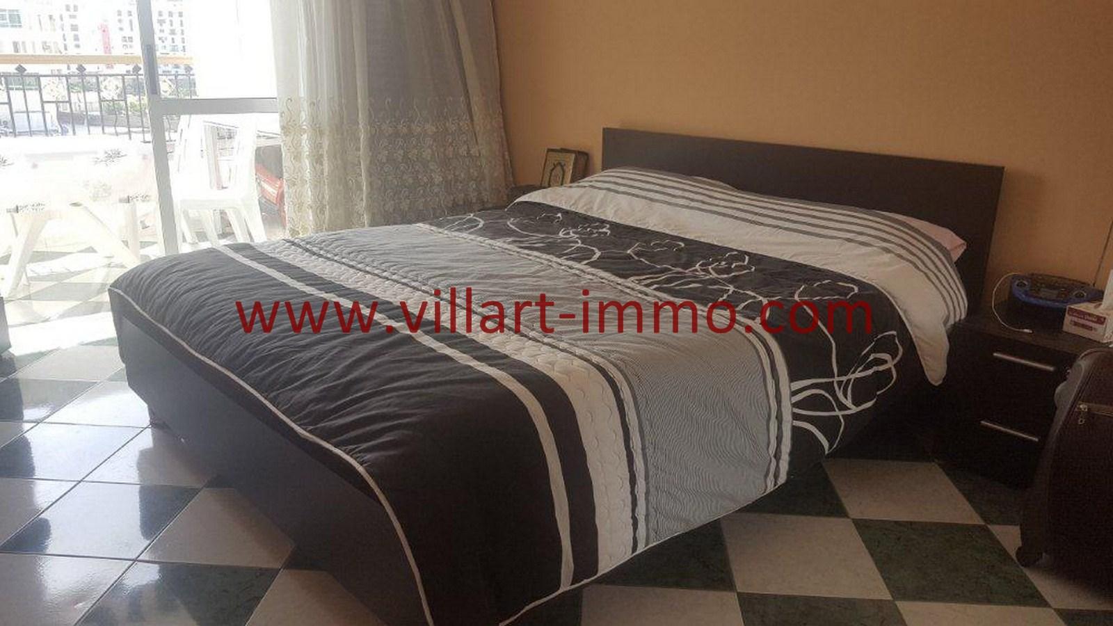 5-Vente-Appartement-Tanger-Malabata-Chambre-à-coucher-VA507-Villart Immo