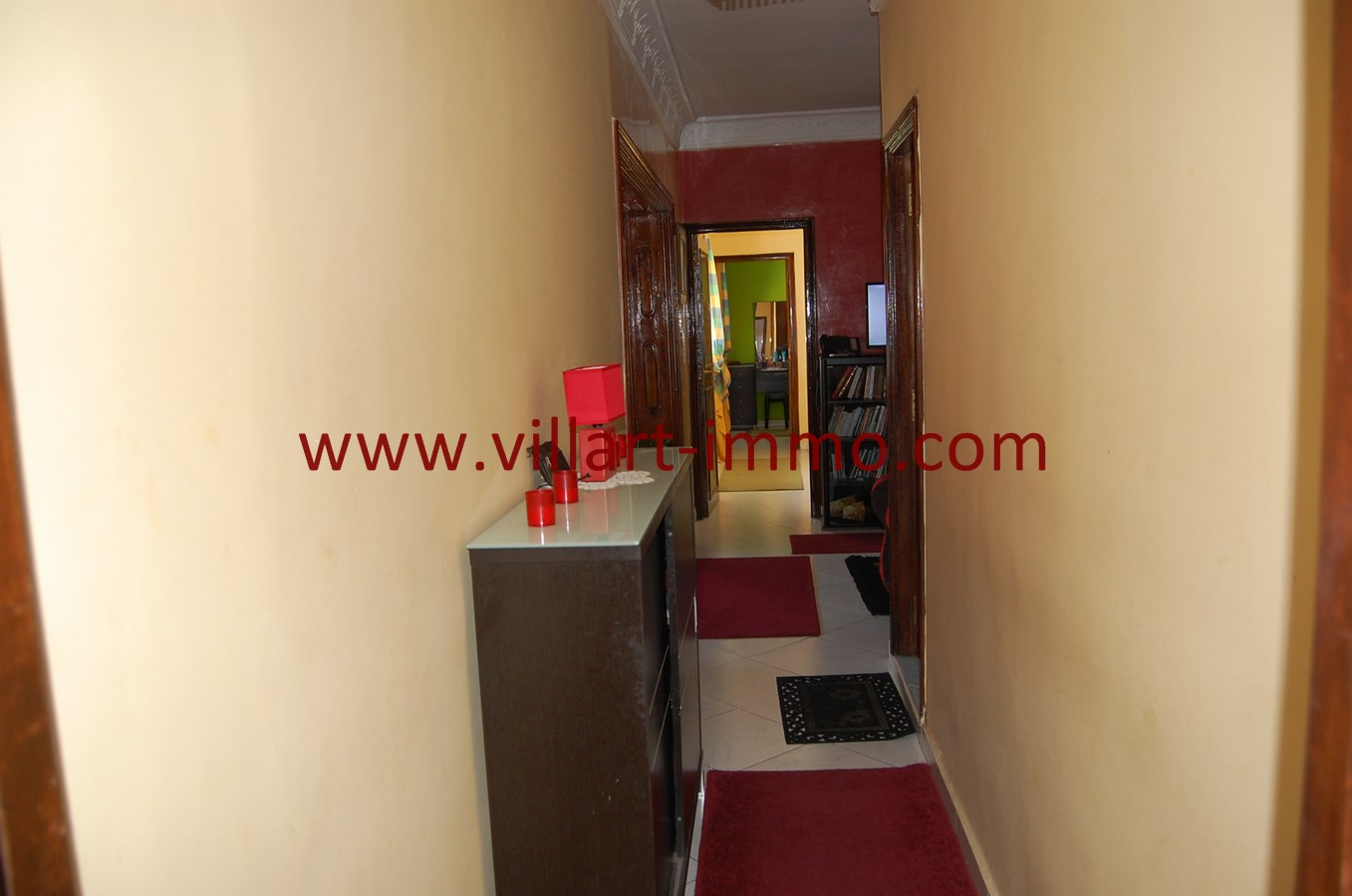 7-Vente-Appartement-Tanger-Centre-Ville-Couloir-VA505-Villart Immo