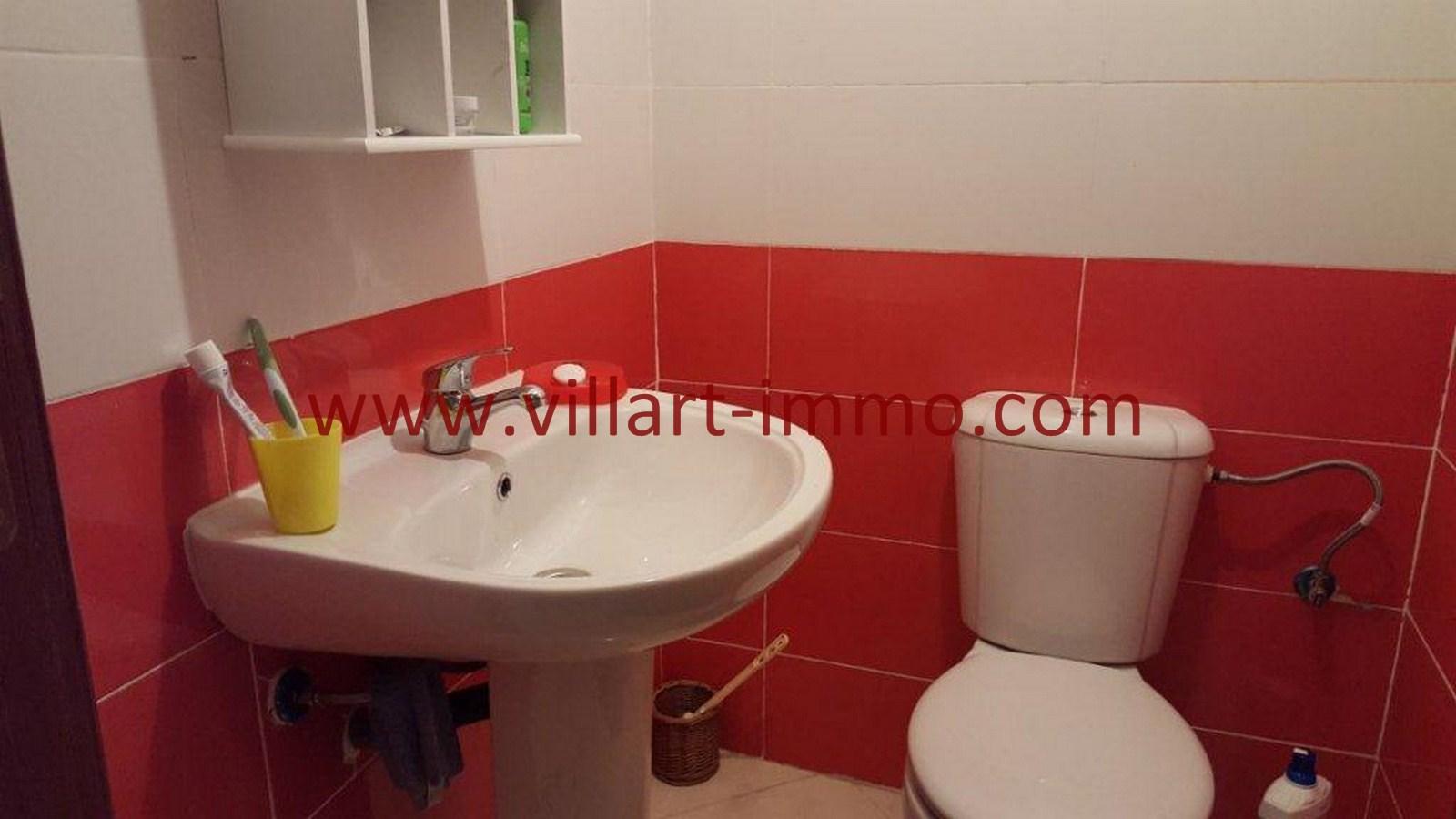 7-Vente-Appartement-Tanger-Toilette de service-VA509-Villart Immo