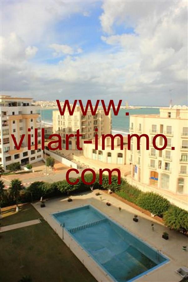 8-Vente-Appartement-Tanger-Malabata-Piscine -VA507-Villart Immo