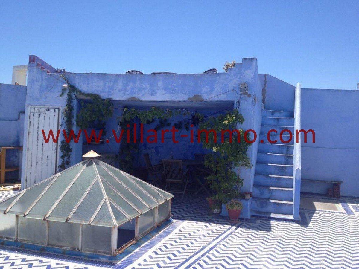 8-Vente-Maison-Assilah-Médina-Terrasse 1 -Villart Immo (Copier)