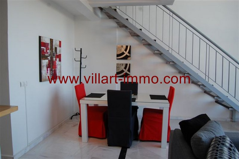 9-Vente-Appartement-Tanger-Centre-De-Ville-Coin salle à manger-Villart Immo