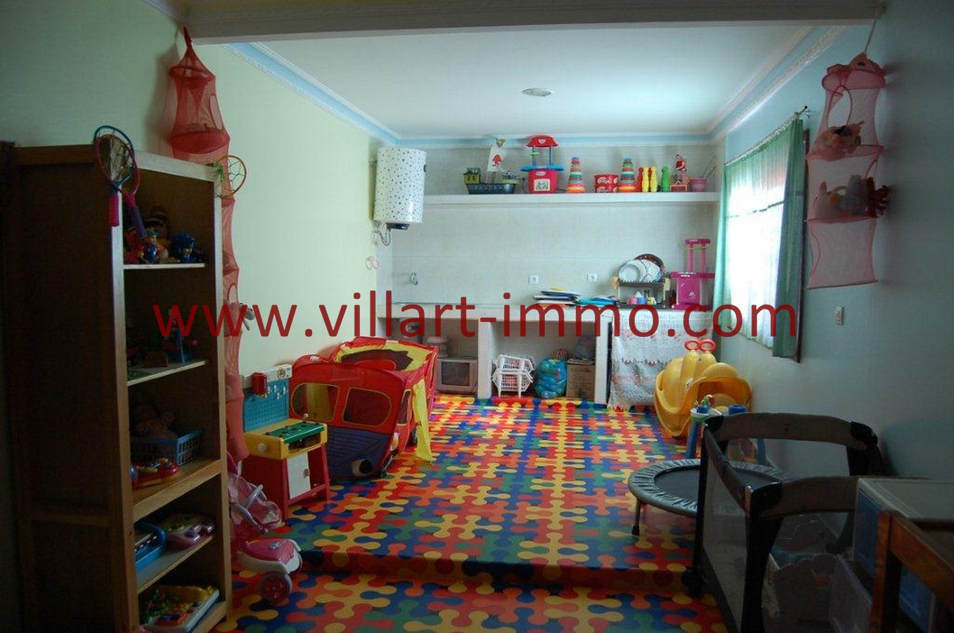 1-Vente-Villa-Tanger-Mojahidin-Salon -VV512-Villart Immo