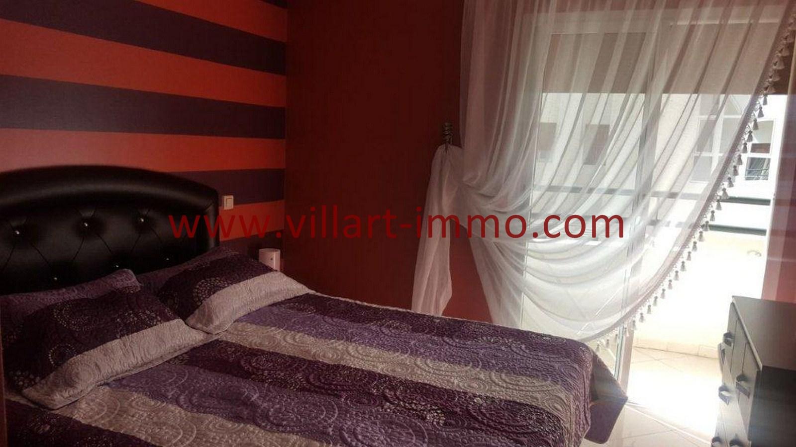 3-Vente-Appartement-Tanger-Chambre à coucher -VA514-Route de Rabat-Villart Immo