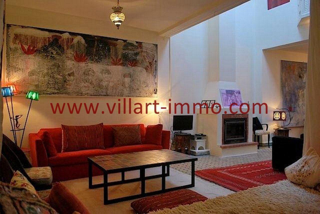3-Vente-Maison-Assilah-Médina-Salon 2-VR516-Villart Immo