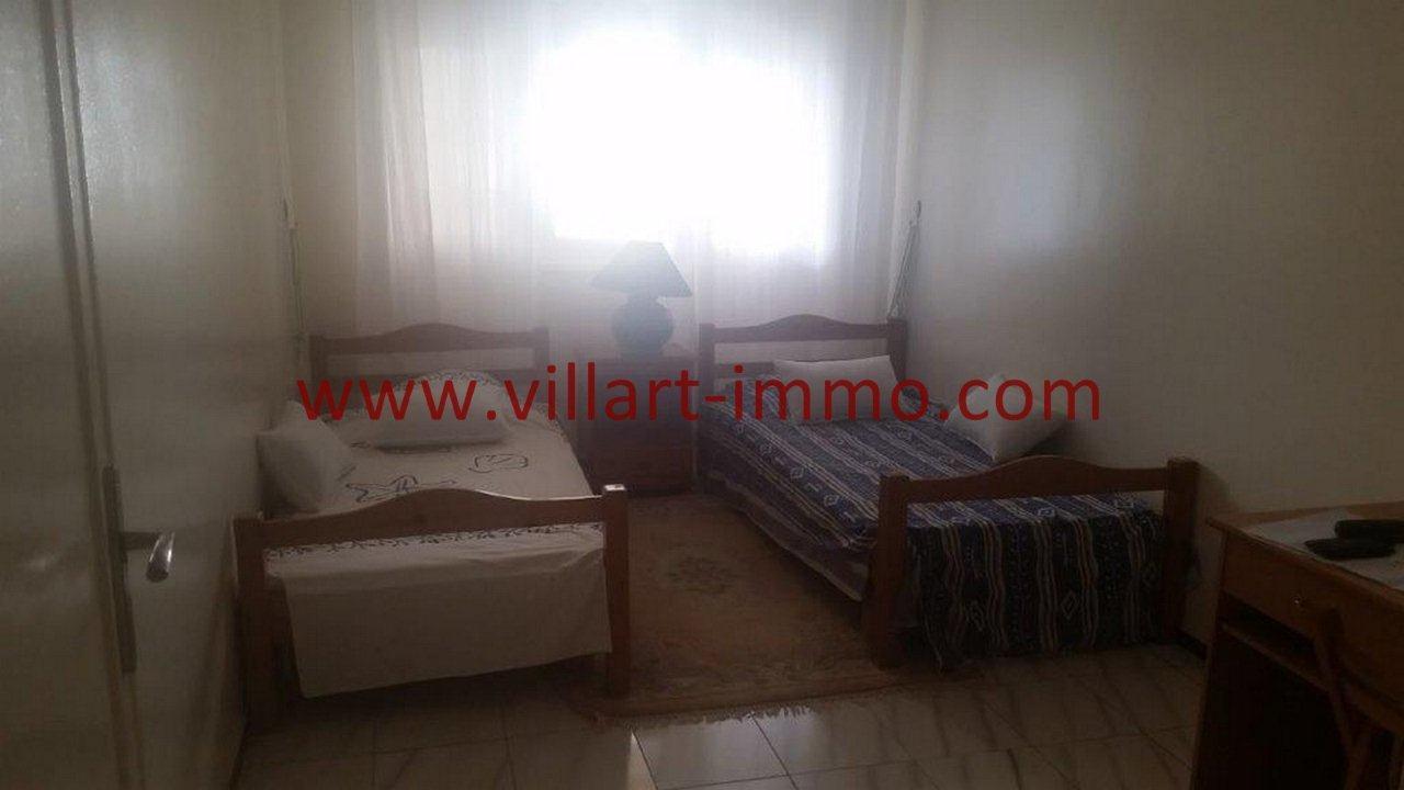 4-Location-Appartement-Tanger-Centre Ville-Chambre à Coucher 2-L1061-Villart Immo