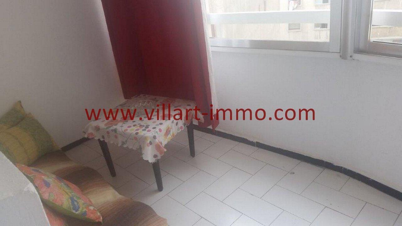 5-Vente-Appartement-Tanger-Centre Ville-Balcon -VA518-Villart Immo