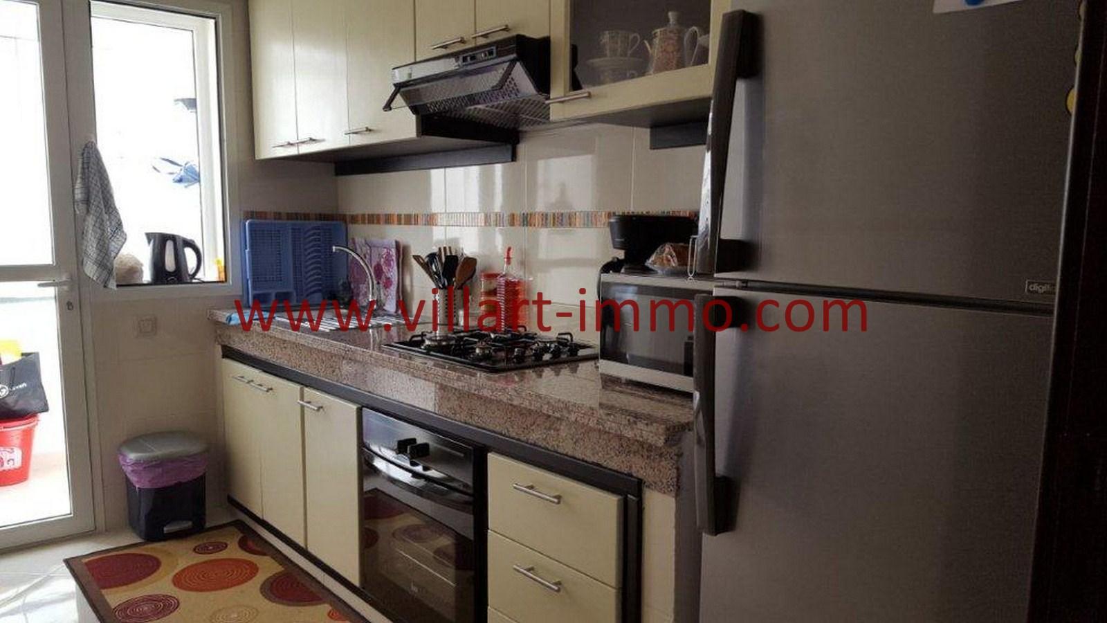 5-Vente-Appartement-Tanger-Cuisine-VA514-Route de Rabat-Villart Immo