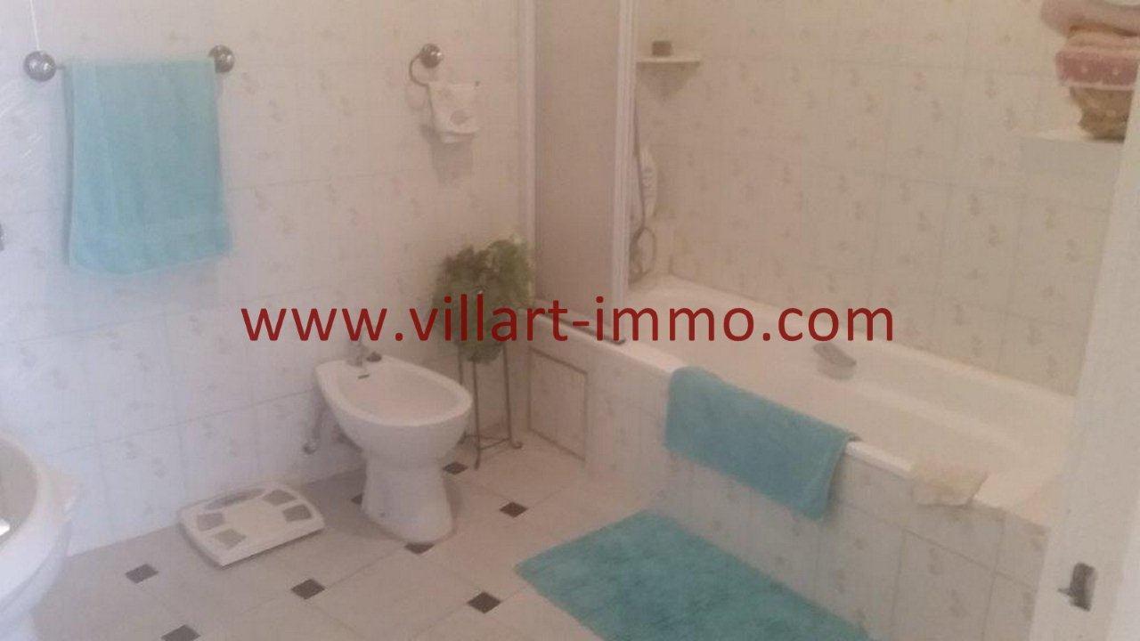 6-Vente-Appartement-Tanger-Centre Ville-Salle de bain -VA518-Villart Immo