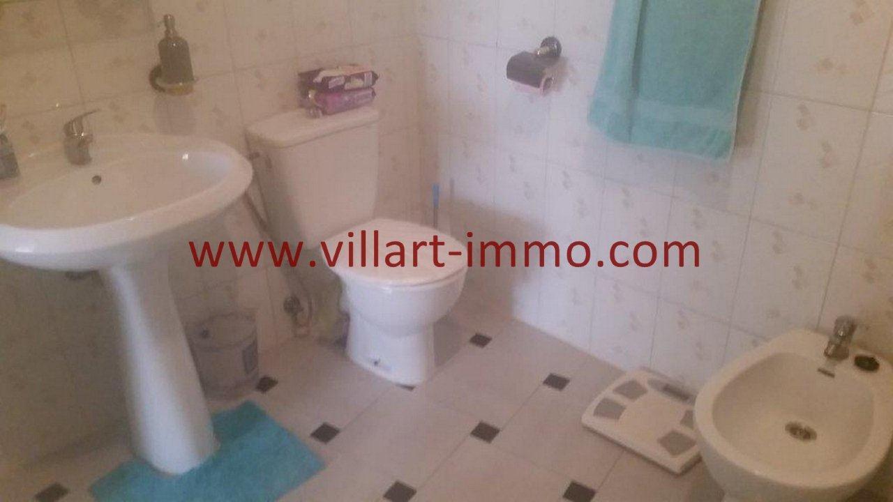 7-Vente-Appartement-Tanger-Centre Ville-Salle de bain 2 -VA518 -Villart Immo