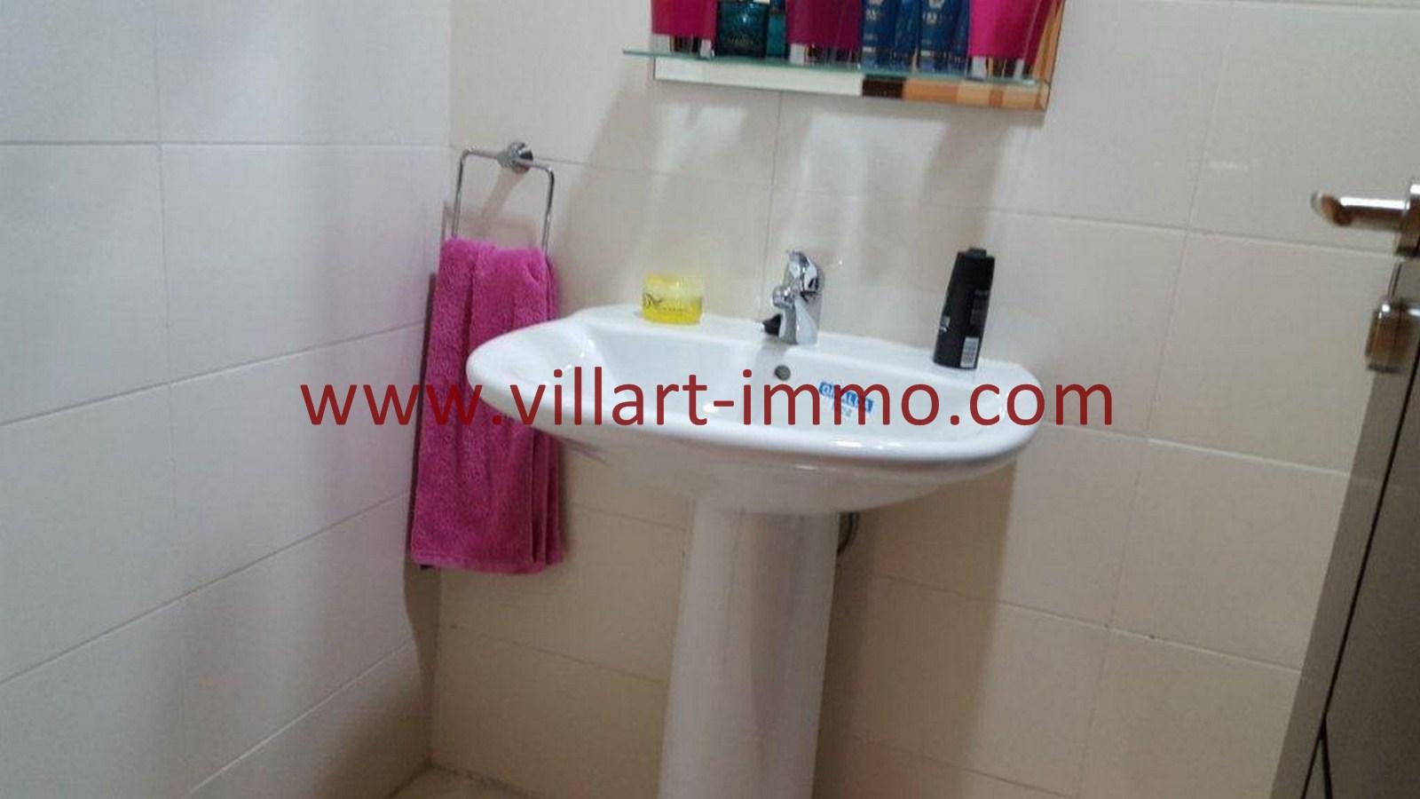 7-Vente-Appartement-Tanger-Toilette de service -VA514-Route de Rabat-Villart Immo