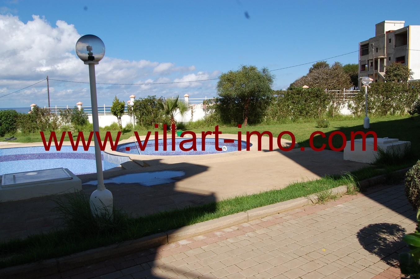 8-Vente-Appartement-Assilah-Piscine 1-VA511-Villart Immo