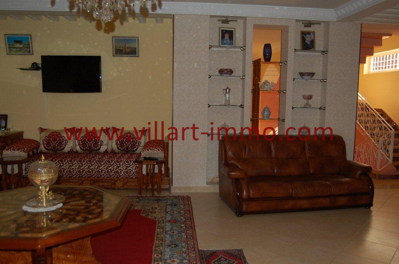 9-Vente-Villa-Tanger-Mojahidin-Salon 2-VV512-Villart Imm