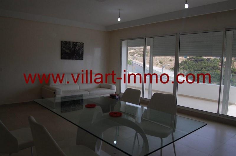 1-Location-Appartement-Meublé-Tanger-Salon 1-L952-Villart immo