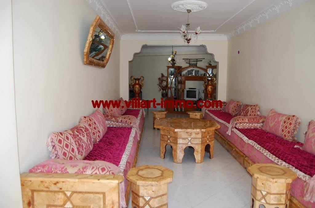 1-Location-Appartement-Non meublé-Centre ville-Salon-Agence immobiliere-Tanger-L1054