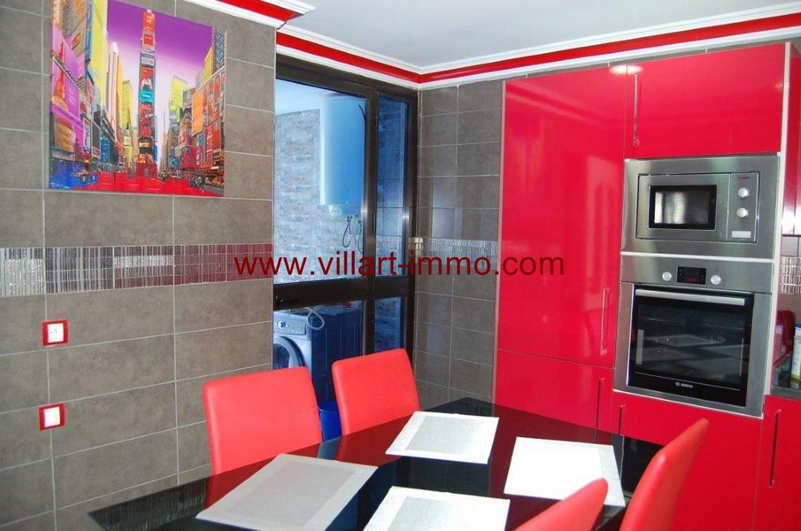 12-Location-Appartement-Meublé-Malabata-Tanger-Cuisine-Agence-L1056