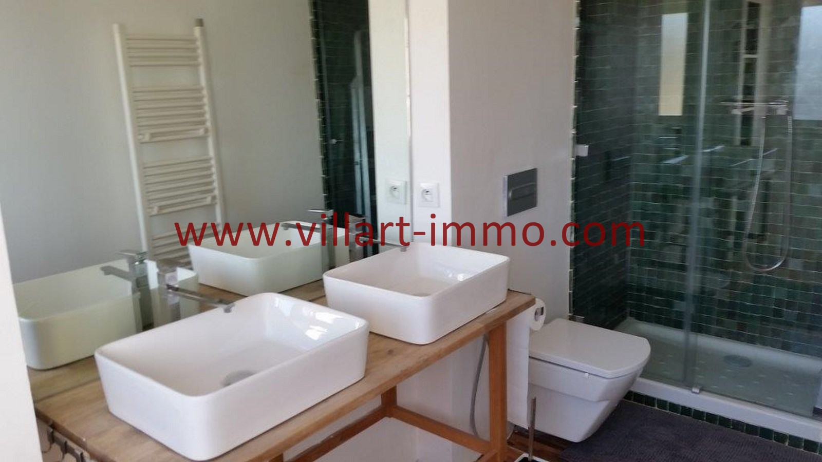 12-Vente-Appartement-Tanger-Centre-De-Ville-Salle de bain-VA518-Villart Immo