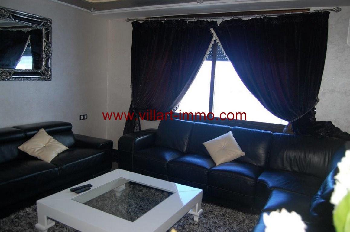 2-Location-Appartement-Meublé-Malabata-Tanger-Salon-Agence-L1056