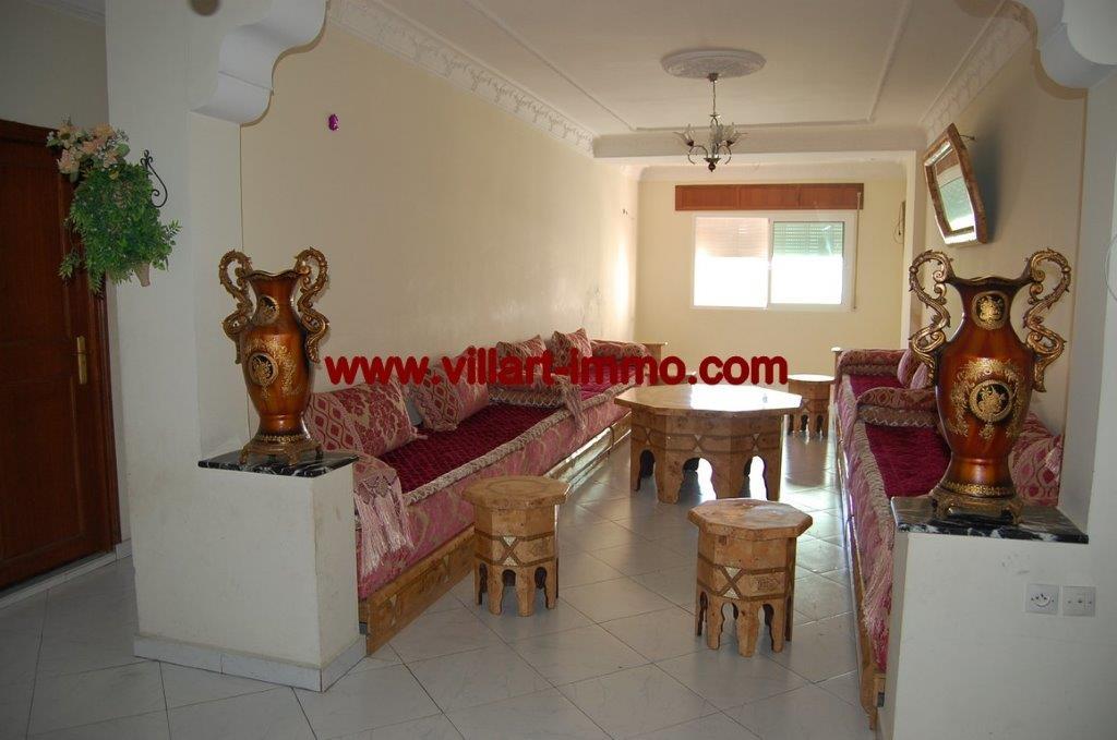 2-Location-Appartement-Non meublé-Centre ville-Salon-Agence immobiliere-Tanger-L1054