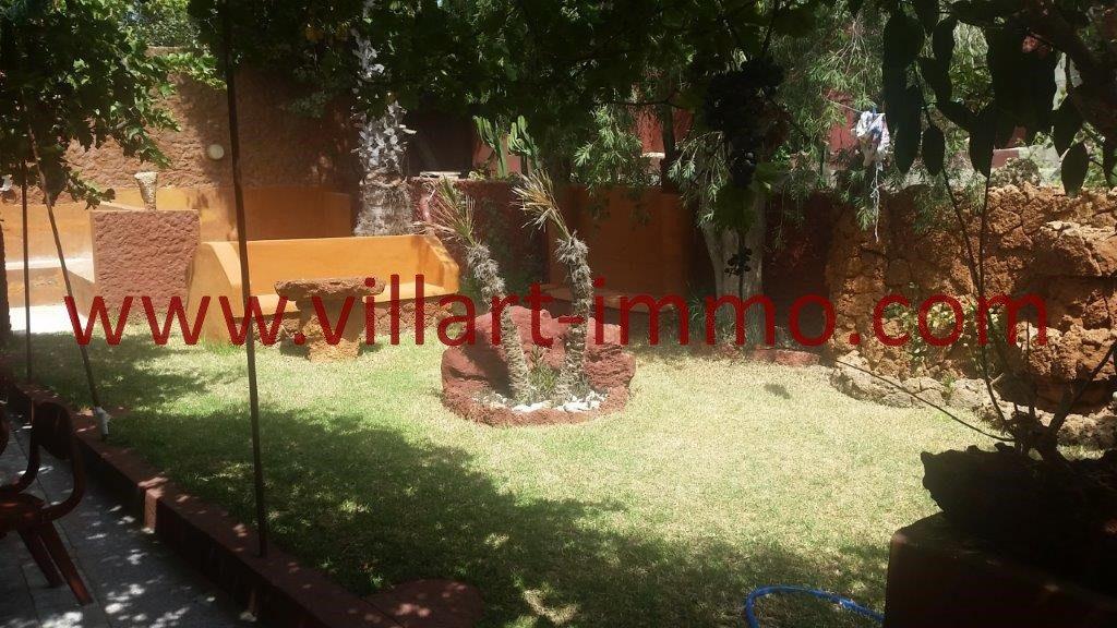 Location appartement villa avec jardin tanger villart for Louer appartement jardin
