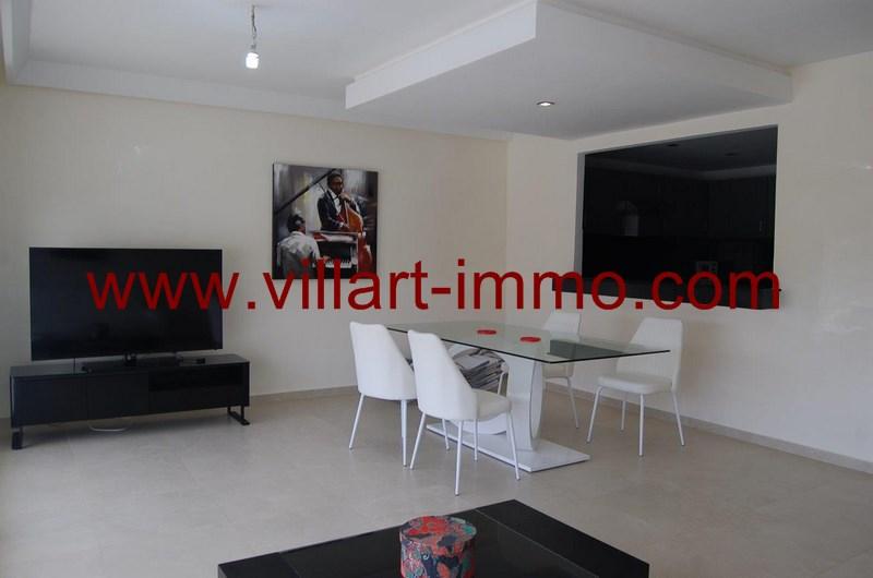 3-Location-Appartement-Meublé-Tanger-Salon 2-L952-Villart immo