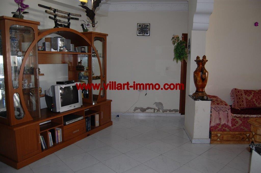 3-Location-Appartement-Non meublé-Centre ville-Salon-Agence immobiliere-Tanger-L1054