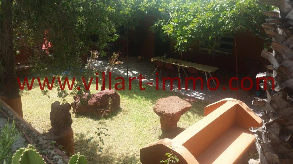 3-Location-Appartement villa-Tanger-Nuinuish-L1062-Meublé-Jardin 2