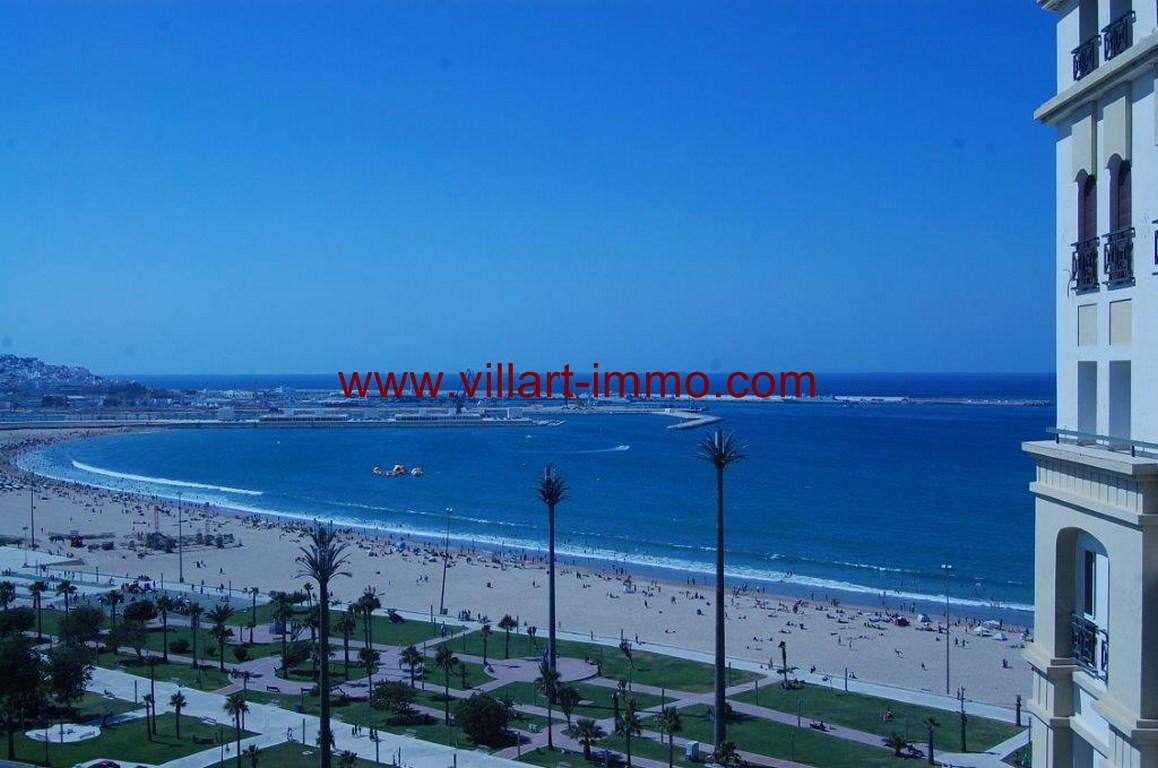 4-Location-Appartement-Meublé-Malabata-Tanger-vue de l'appartement-Agence-L1056