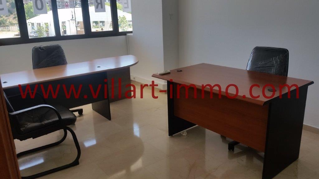 A louer bureau meubl situ en plein centre ville de for Louer en meuble