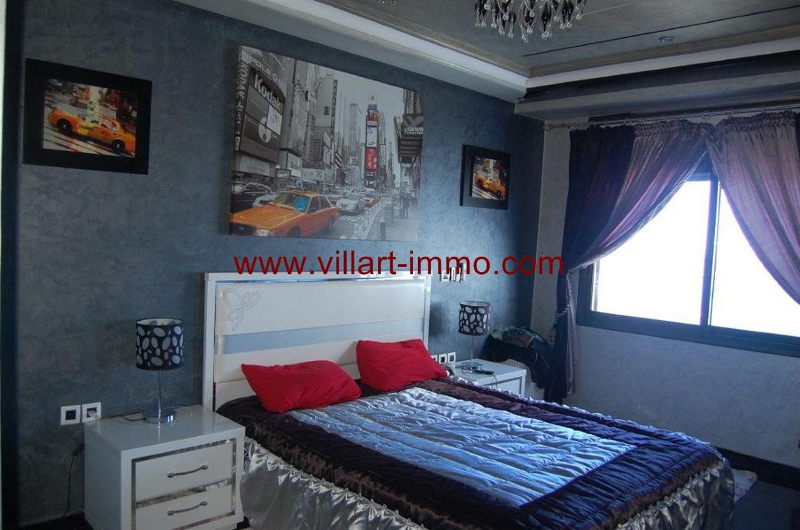 6-Location-Appartement-Meublé-Malabata-Tanger-Chambre 1-Agence-L1056