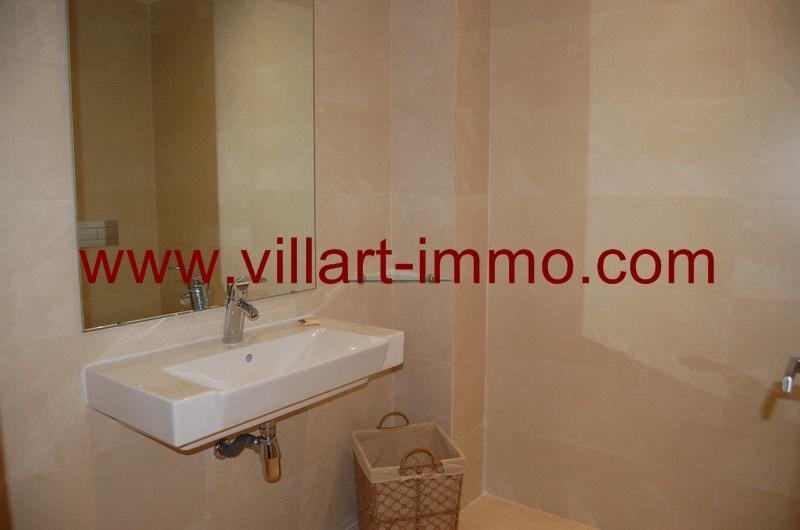 6-Location-Appartement-Meublé-Tanger-Salle de bain 1-L952-Villart immo
