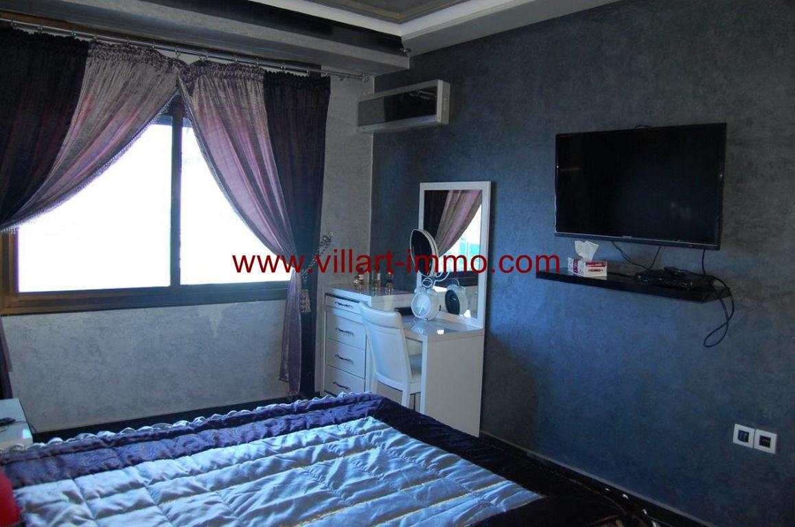 7-Location-Appartement-Meublé-Malabata-Tanger-Chambre 1-Agence-L1056