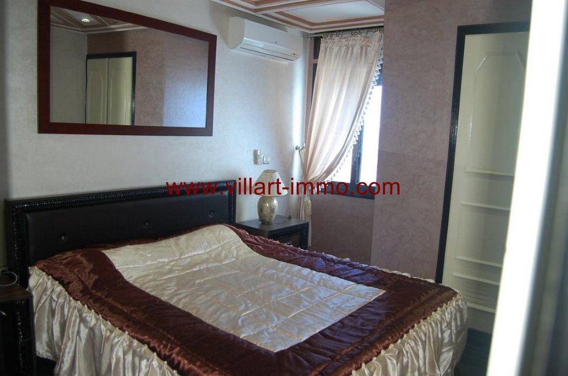 8-Location-Appartement-Meublé-Malabata-Tanger-Chambre 2-Agence-L1056