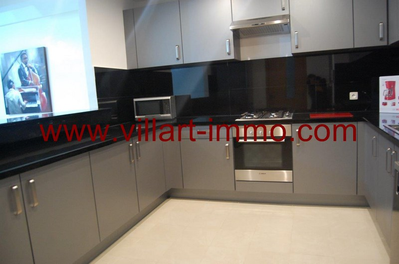 8-Location-Appartement-Meublé-Tanger-Cuisine 2-L952-Villart immo