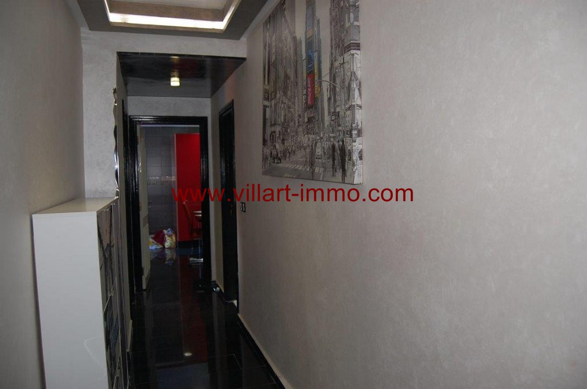 9-Location-Appartement-Meublé-Malabata-Tanger-Couloire-Agence-L1056