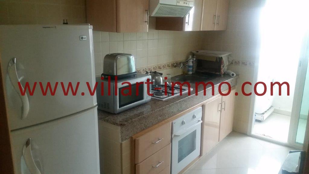 03-Location-Appartement-Tanger-Meublé-Centre ville-Cuisine-L1067