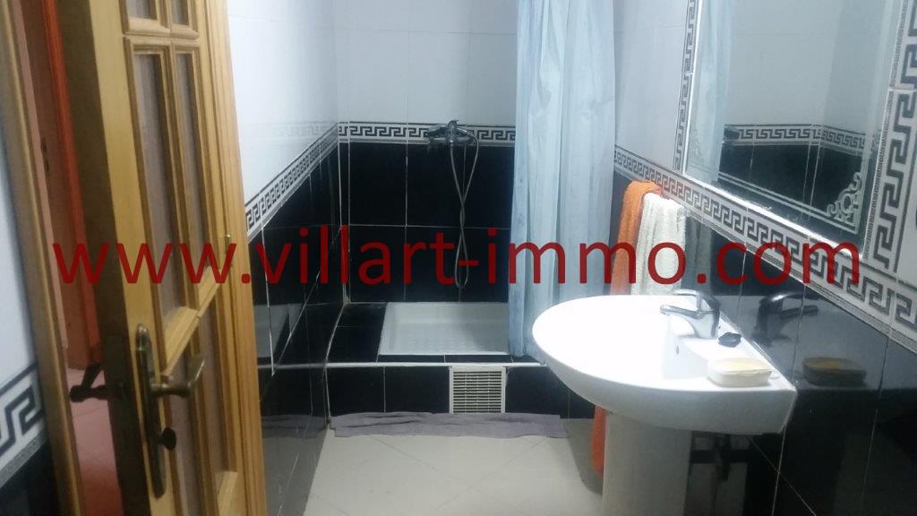09-Location-Appartement-Tanger-Meublé-Centre ville-Salle de bain 2-L1067