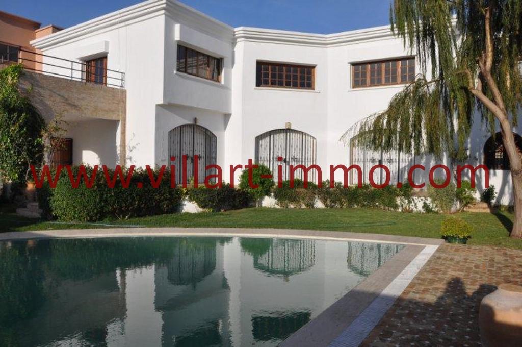 1-Location-villa-Tanger-non meublée-Boubana-piscine-LV152