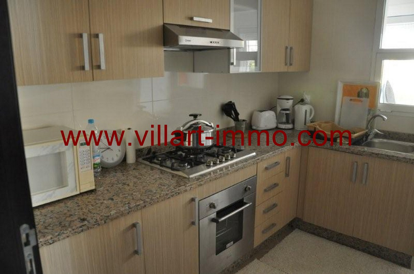 Location Appartement Meubl Tanger Route De Rabat Villart