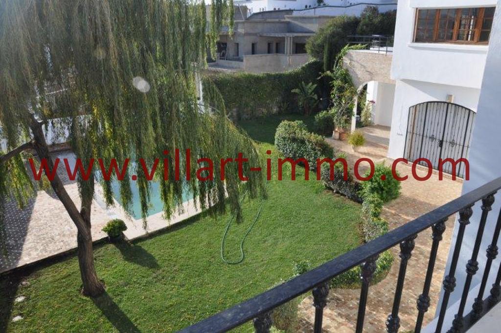 11-Location-villa-Tanger-non meublée-Boubana-Jardin- LV152