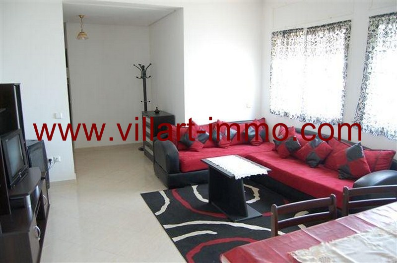 2-Vente-Appartement-Tanger-Route-de-Rabat-Salon 2-VA521-Villart Immo