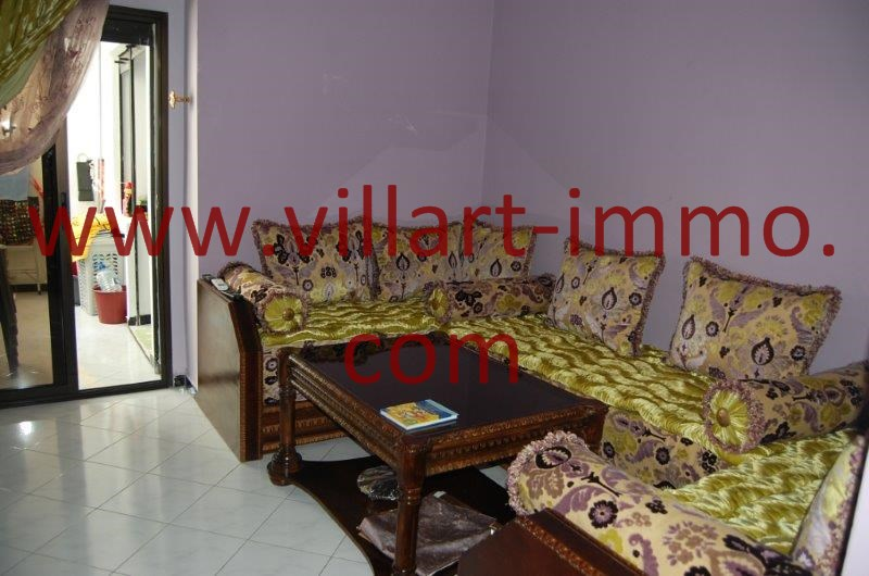 3-Location-Tanger-Appartement-Centre ville-Séjour-L1068-Villart immo [VillArt]