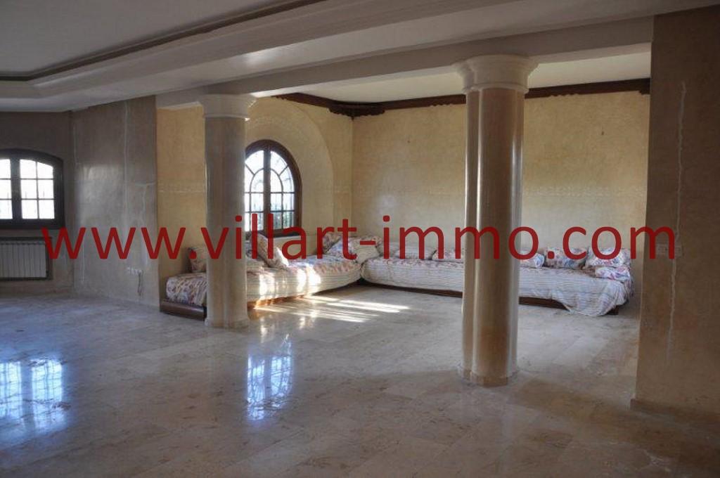 3-Location-villa-Tanger-non meublée-Boubana-Salon 2-LV152