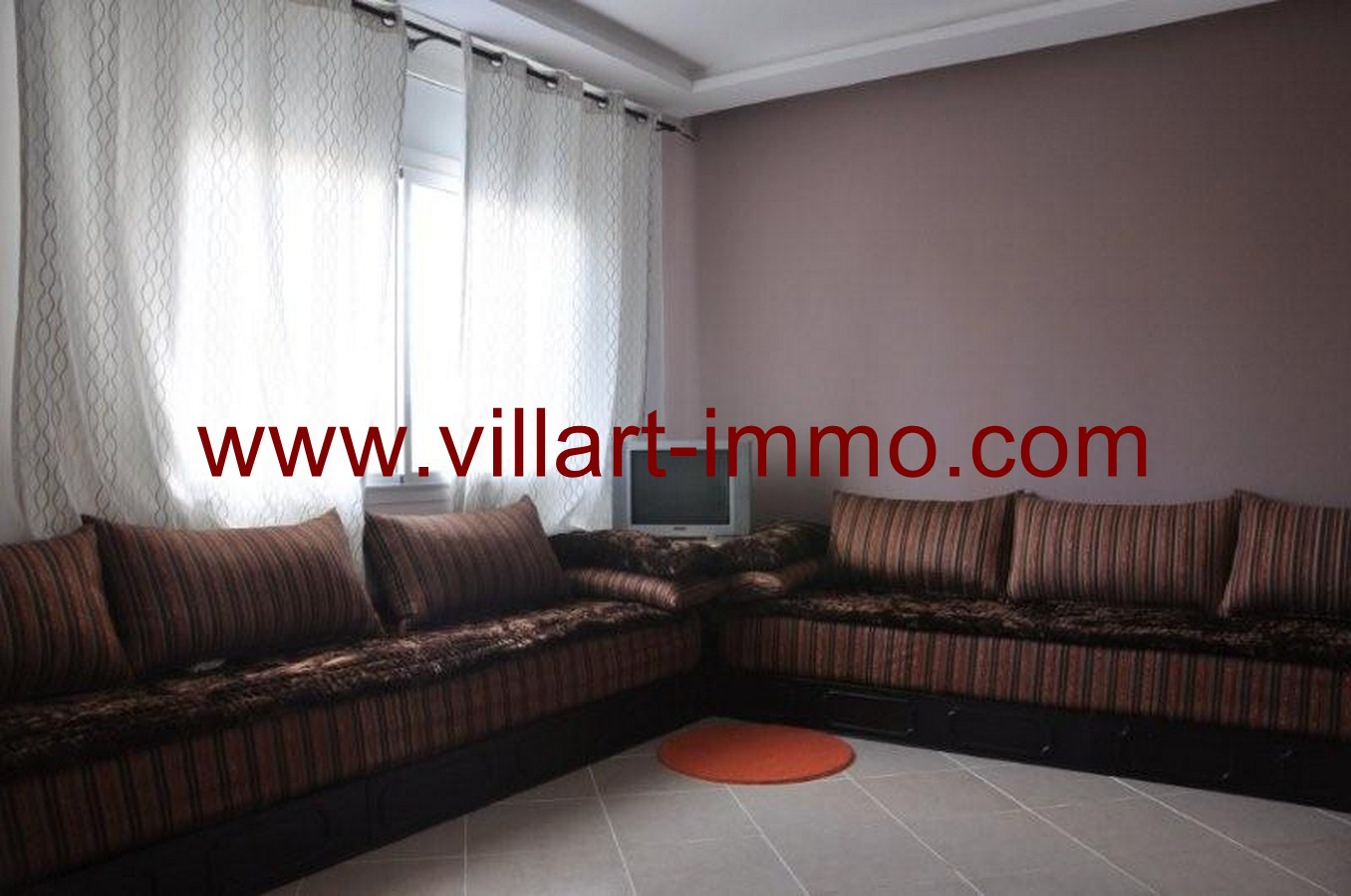 3-Tanger-Location-Appartement-Meublé-Salon-L42