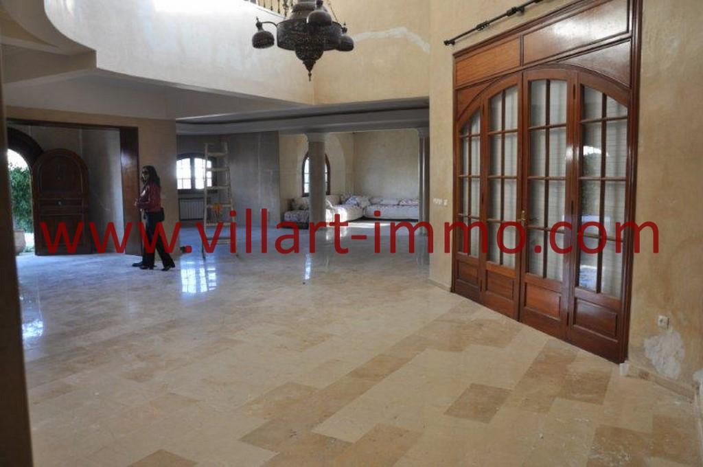 4-Location-villa-Tanger-non meublée-Boubana-Salon 3-LV152