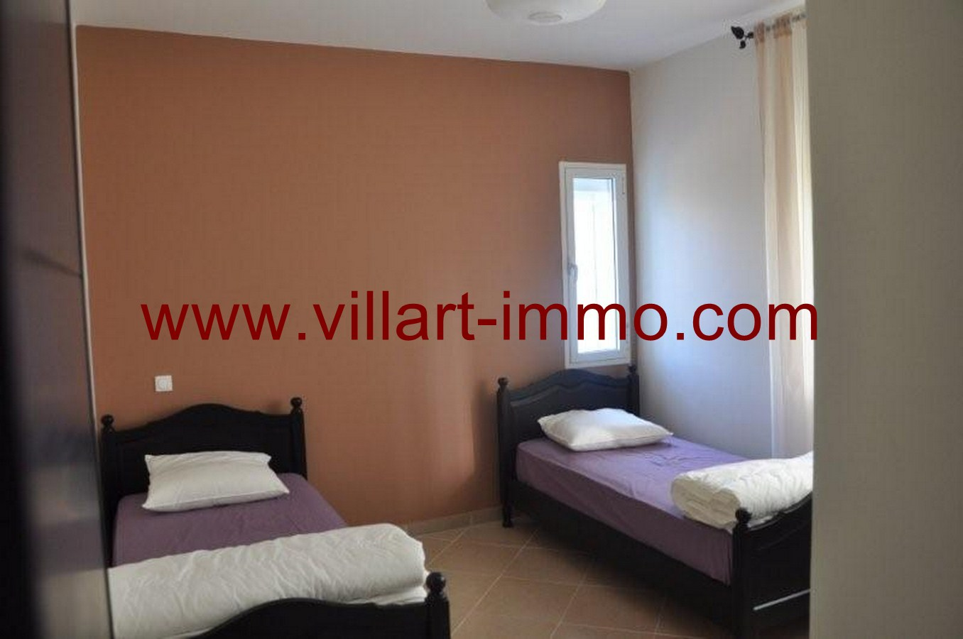 location appartement meubl tanger route de rabat villart. Black Bedroom Furniture Sets. Home Design Ideas